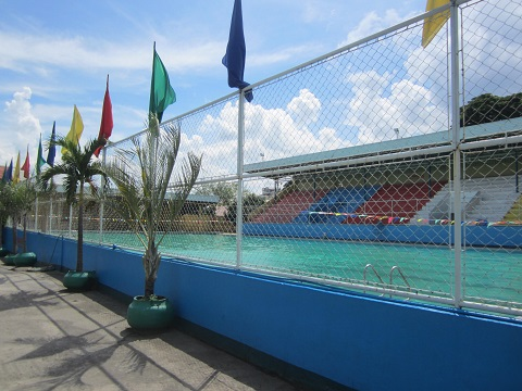 50 m Olympic sized swimming pool in Cebu City