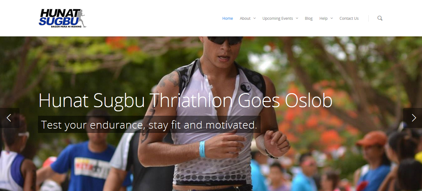 John Rueth, philippinischer Triathlet